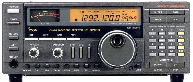 ICOM IC-R7100
